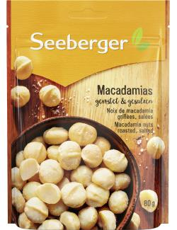 Seeberger Macadamias ger�stet & gesalzen  (80 g) - 4008258046029