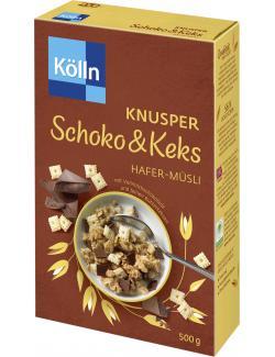 Kölln Knusper Müsli Schoko & Keks  (500 g) - 4000540003222