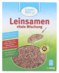 Schapfenm�hle Leinsamen vitale Mischung  (200 g) - 4000950073204