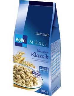 K�lln Knusper M�sli Klassik  (2 kg) - 4000540023473