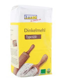 Basic Dinkelmehl Type 630  (1 kg) - 4032914420281