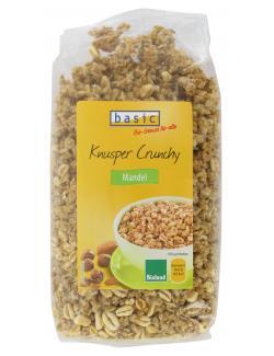 Basic Knusper Crunchy Mandel  (375 g) - 4032914440418
