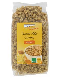 Basic Knusper Hafer Crunchy Original  (375 g) - 4032914440470