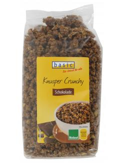 Basic Knusper Crunchy Schokolade  (375 g) - 4032914440531