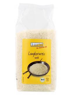 Basic Langkornreis wei�  (1 kg) - 4032914410725