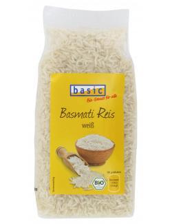 Basic Basmati Reis wei�  (500 g) - 4032914410817