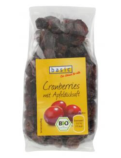 Basic Cranberries  (100 g) - 4032914680319