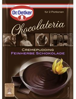 Dr. Oetker Chocolateria Cremepudding feinherbe Schokolade  (87 g) - 4000521011567