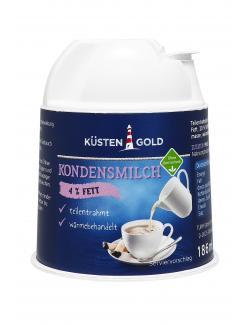 Küstengold Kondensmilch 4%  (200 g) - 4250426212235