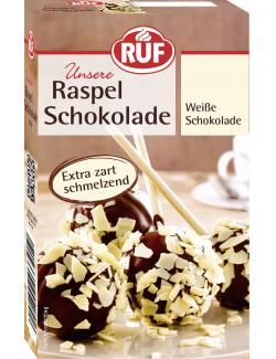 Ruf Raspel Schokolade wei�  (100 g) - 4002809004292