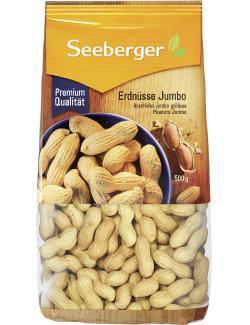 Seeberger Erdnüsse Jumbo Riesen  (500 g) - 4008258036013