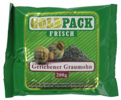 Goldpack Frisch geriebener Graumohn  (200 g) - 9001466203531