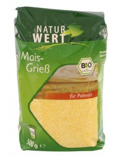 NaturWert Bio Maisgrieß  (500 g) - 4250780301552