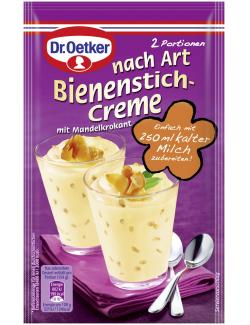 Dr. Oetker nach Art Bienenstich-Creme mit Mandelkrokant  (58 g) - 4000521012694