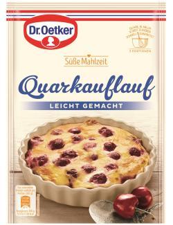 Dr. Oetker Süße Mahlzeit Quarkauflauf  (108 g) - 4000521012632