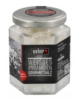 Weber Weisses Pyramiden Gourmetsalt  (80 g) - 4007354695001