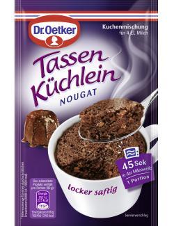 Dr. Oetker Tassen Küchlein Nougat  (53 g) - 4000521013127