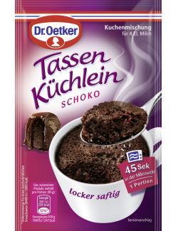 Dr. Oetker Tassen K�chlein Schoko  (55 g) - 4000521013103