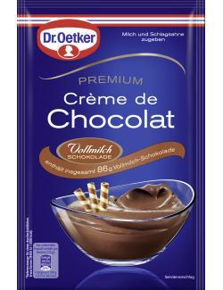 Dr. Oetker Premium Cr�me de Chocolat Vollmilch  (183 g) - 4000521013660