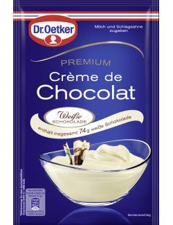 Dr. Oetker Premium Crème de Chocolat weiß  (161 g) - 4000521013707