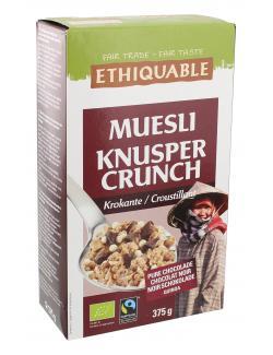 Ethiquable M�sli Knusper Crunch  (375 g) - 5420051400546