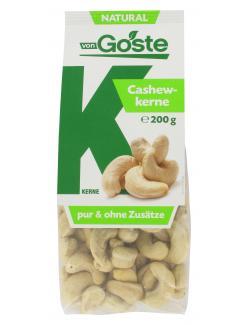 Von Goste Natural Cashewkerne  (200 g) - 4001848171002