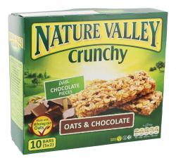 Nature Valley Crunchy Oats & Chocolate  (5 x 42 g) - 8410076600479