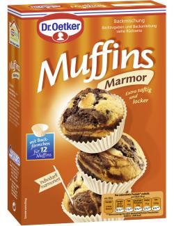 Dr. Oetker Muffins Marmor  (320 g) - 4000521014049