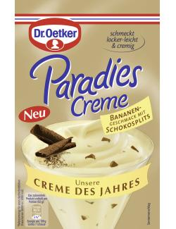 Dr. Oetker Paradies Creme Banane-Schokosplit  (70 g) - 4000521015237
