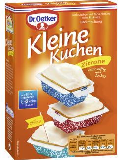 Dr. Oetker Kleine Kuchen Zitrone  (290 g) - 4000521015350