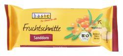 Basic Fruchtschnitte Sanddorn  (40 g) - 4032914779136