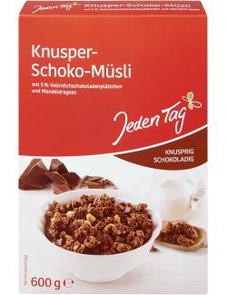Jeden Tag Knusper-Schoko-Müsli extra knusprig  (600 g) - 4306180233570