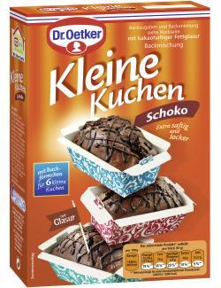 Dr. Oetker Kleine Kuchen Schoko  (260 g) - 4000521015336