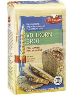 Küchenmeister Backmischung Vollkornbrot  (500 g) - 4006363101435