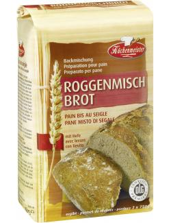 K�chenmeister Backmischung Roggenmischbrot  (500 g) - 4006363108342