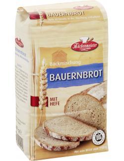 K�chenmeister Backmischung Bauernbrot  (500 g) - 4006363101404