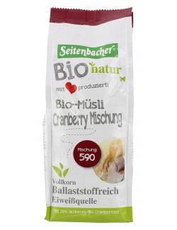 Seitenbacher Bio-M�sli 590 Cranberry Mischung  (500 g) - 4008391003590