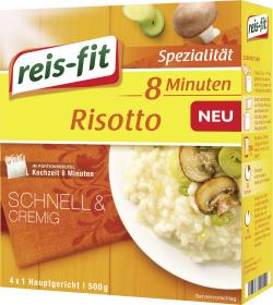 Reis-fit 8-Minuten Risotto Reis  (500 g) - 4006237641241