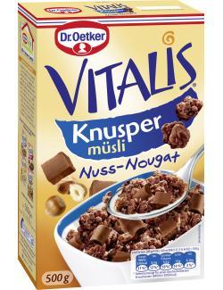 Dr. Oetker Vitalis Knusper Müsli Nuss-Nougat  (500 g) - 4000521017248