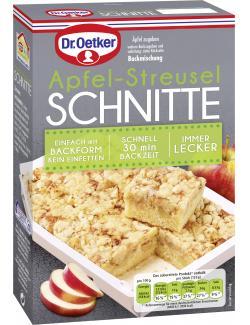 Dr. Oetker Apfel-Streusel Schnitte  (355 g) - 4000521017286