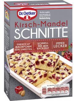 Dr. Oetker Kirsch-Mandel Schnitte  (255 g) - 4000521017309
