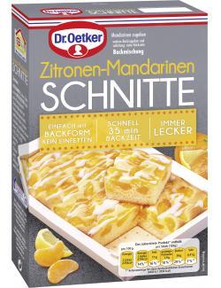 Dr. Oetker Zitronen-Mandarinen Schnitte  (285 g) - 4000521017323