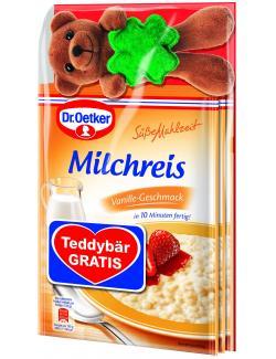 Dr. Oetker S��e Mahlzeit Milchreis Vanille Teddyb�r gratis  (375 g) - 4000521016753