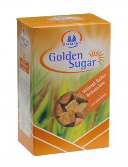 Diamant Golden Sugar W�rfel Rohrzucker  (500 g) - 4001726828004
