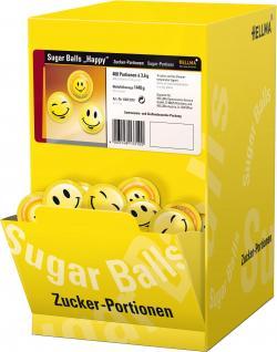 Hellma Sugar Balls Happy  (400 x 3,60 g) - 4003148133100