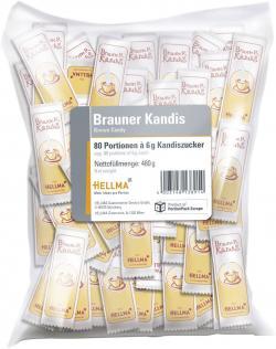 Hellma Brauner Kandis  (80 x 6 g) - 4003148138914