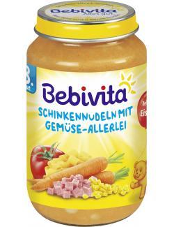 Bebivita Schinkennudeln mit Gem�se-Allerlei  (220 g) - 4018852104216