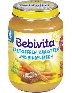 Bebivita Kartoffeln, Karotten und Rindfleisch  (190 g) - 4018852001508