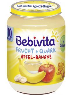 Bebivita Frucht & Quark Apfel-Banane  (190 g) - 4018852109310