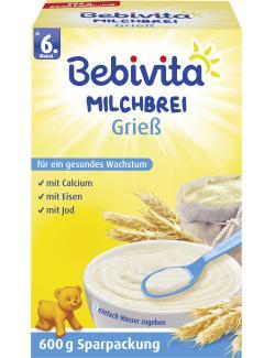 Bebivita Milchbrei Grie�  (600 g) - 4018852001683